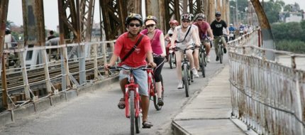 Hanoi rural villages by bike day tour
