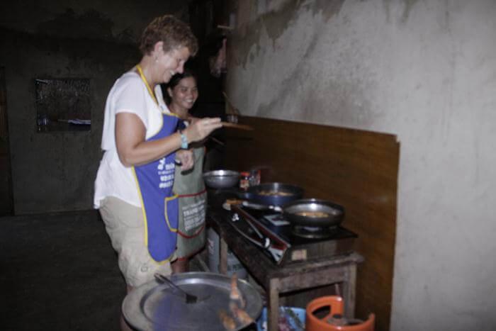 Mai Chau cooking