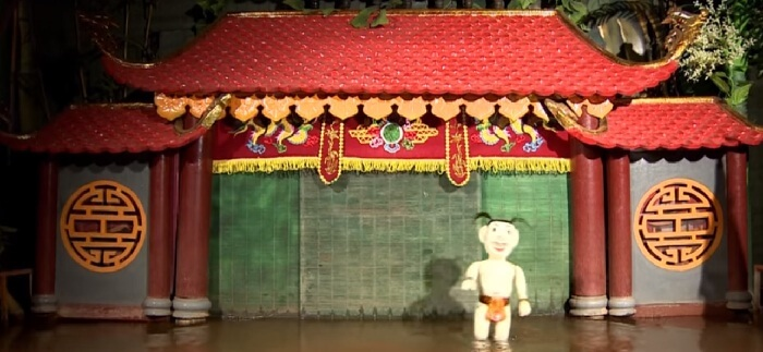 Inhouse Hanoi water puppet