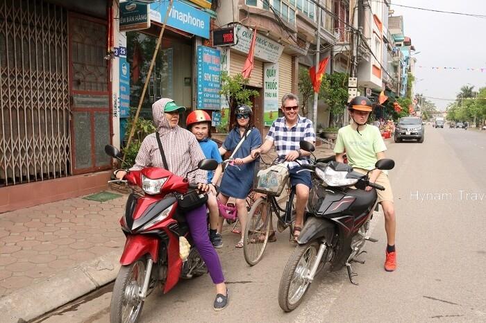 Hanoi motorbike day trip