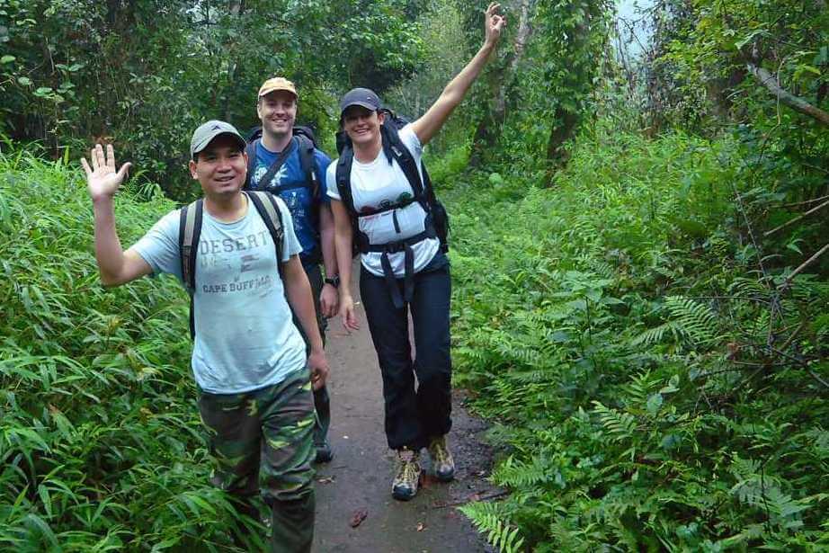 Ngoc Son Ngo Luong trekking