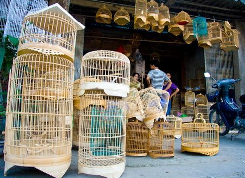 Birdcage making and silk village day tour