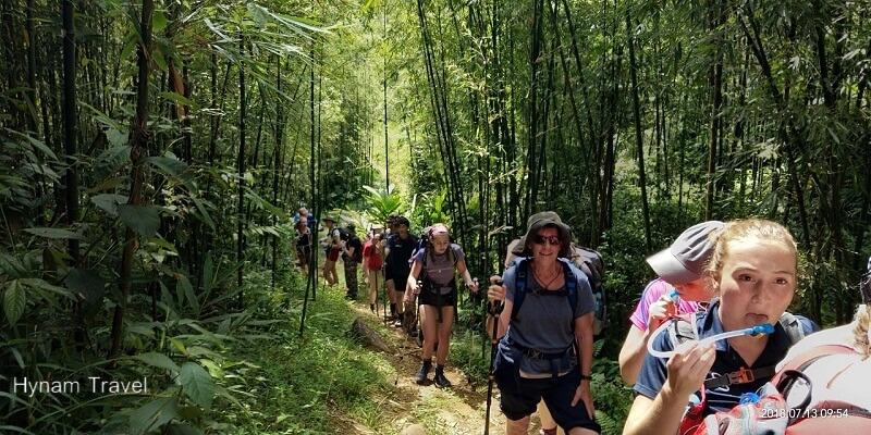 Giang Ta Chai trekking