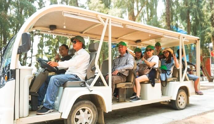 Cai Chien island transportation