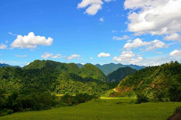 Hieu village Pu Luong