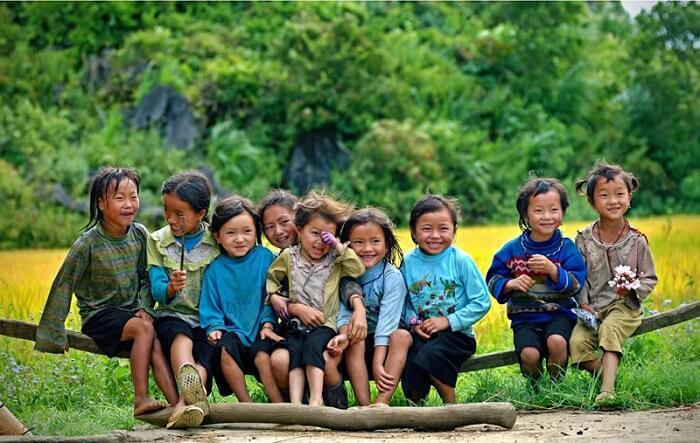 Giang Ta Chai kids