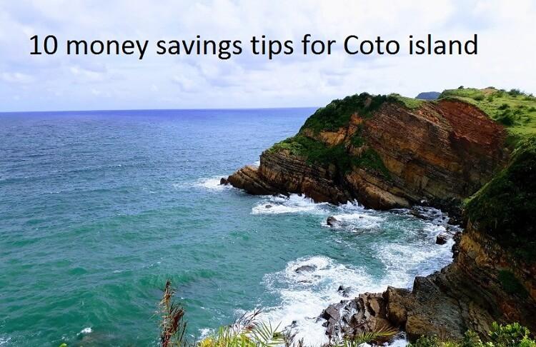 Money saving tips Coto island