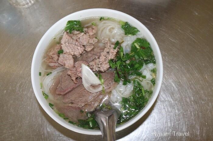 Nam Dinh beef noodle soup