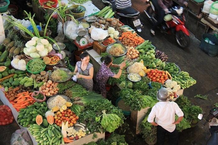 Ben tre local market
