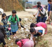 Ba Be lake community volunteering 12 days