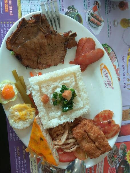 Broken rice Ho Chi Minh