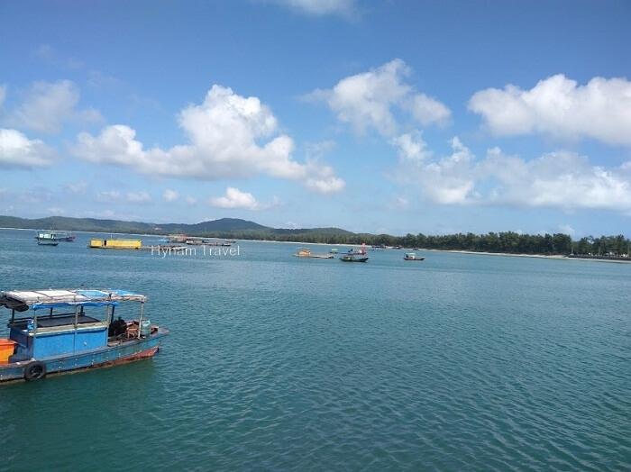 Coto island itinerary