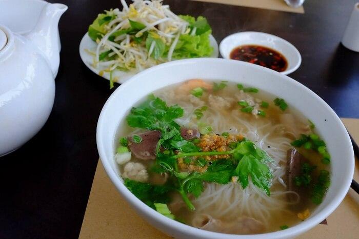 Street Side Khmer Noodle Soup