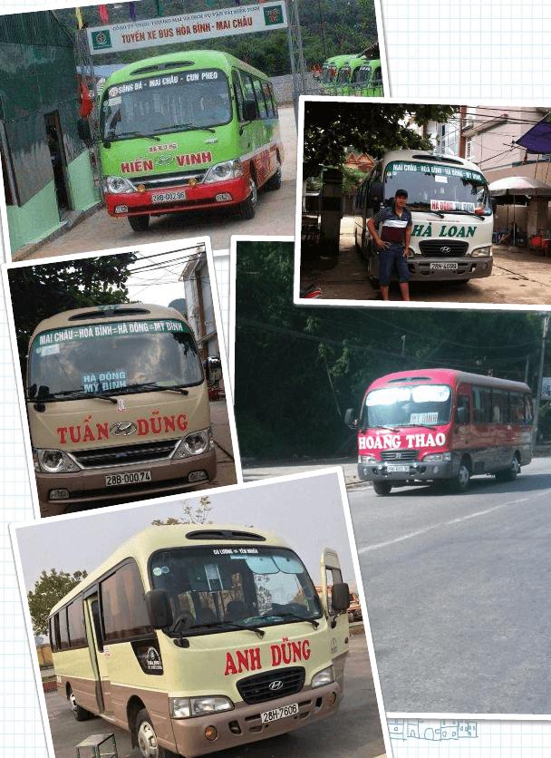 Mai Chau bus