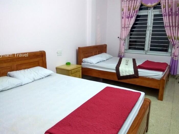 Accommodation in Minh Chau beach