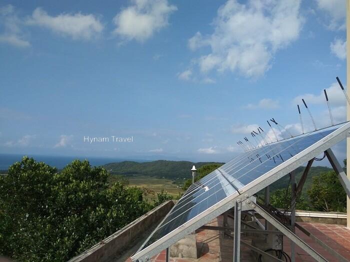 Solar Panel in Coto island