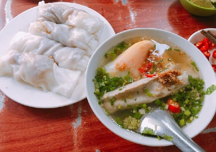 Cao Bang Steamed rice roll